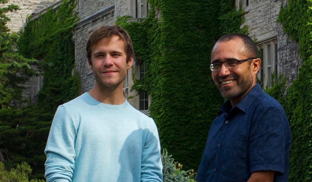 Josh LeBlanc and Ruben Burga
